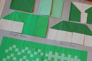 Green-origami-scrapbook