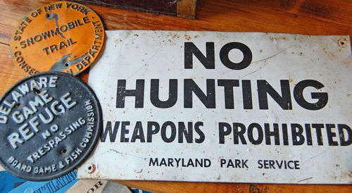 Hunting-signs