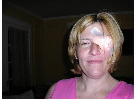 Colleen eye patch