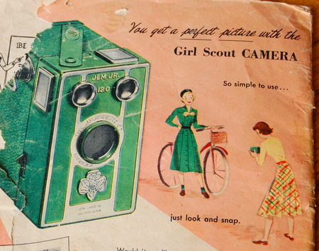 Girlscout-camera