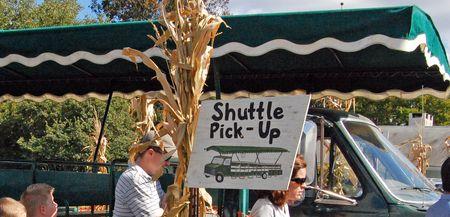 Shuttle-sign